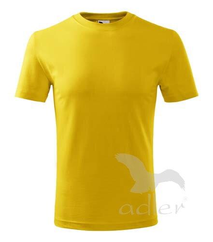 13f69230bb6 Adler detské tričko s krátkym rukávom Classic New V135 žlté