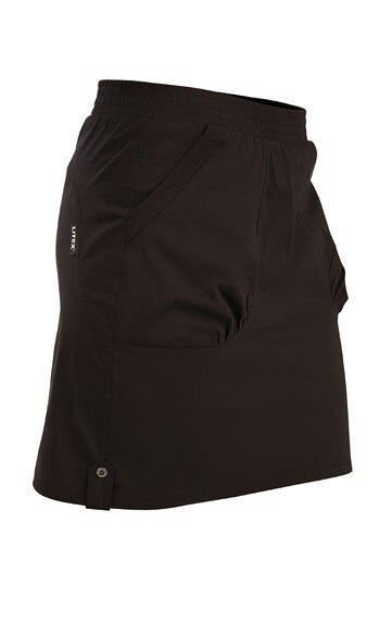 b72e973eb8fb Čierna dámska športová sukňa s vreckami Litex 50268