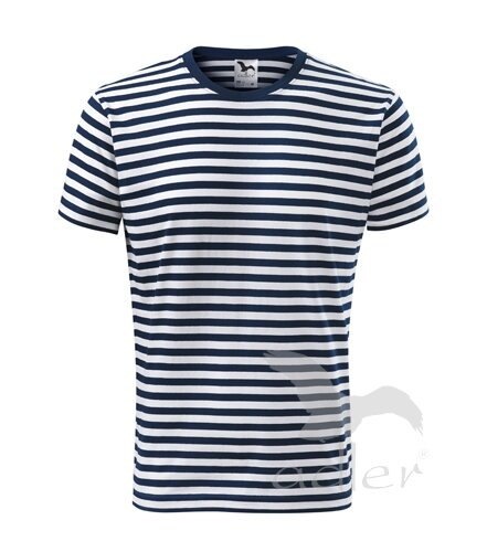 83d227f4da31 Pánske námornícke tričko s krátkym rukávom Adler Sailor 803 Malfini ...
