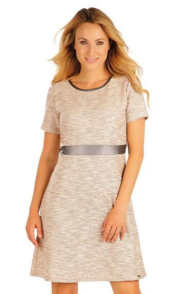 cf488d8ea3b6 Šaty dámske s krátkym rukávom Litex 55060 bavlnené