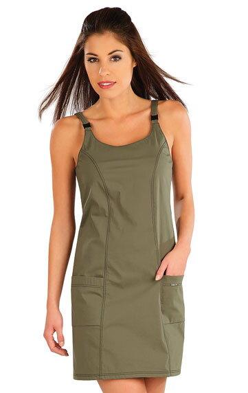 1bd0d622fa17 Športové šaty dámske Litex 58227 s nastaviteľnými ramienkami ...