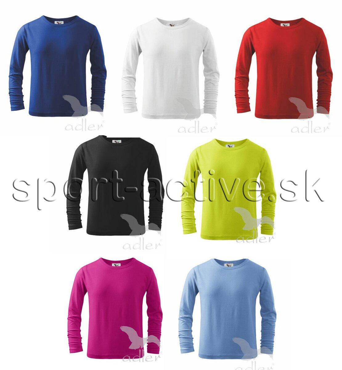 9158f9da50d9 Adler detské tričko s dlhým rukávom 121