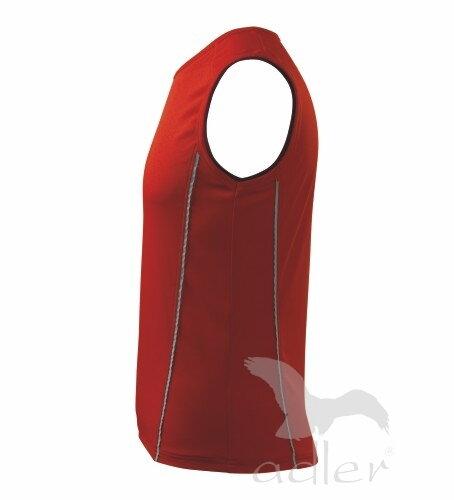 3371c5034 detské tričko z boku detské červené tričko playtime bez rukávov zo zadu  Adler