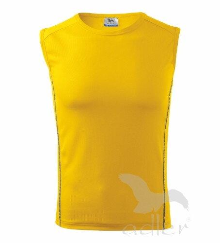 6dc775d00 trávovo zelené tričko detský žltý top bez rukávov playtime 125 Adler žlté  tričko ...