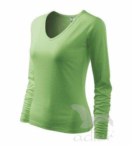 6df385f9c0c4 hráškovo zelené tričko dámske ružové tričko s dlhým rukávom ...