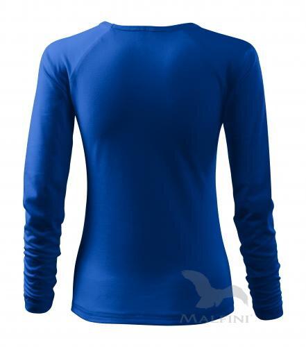 88ff55bec638 kráľovské modré tričko dámske tričko s dlhým rukávom Elegance 127 Malfini  zo zadu