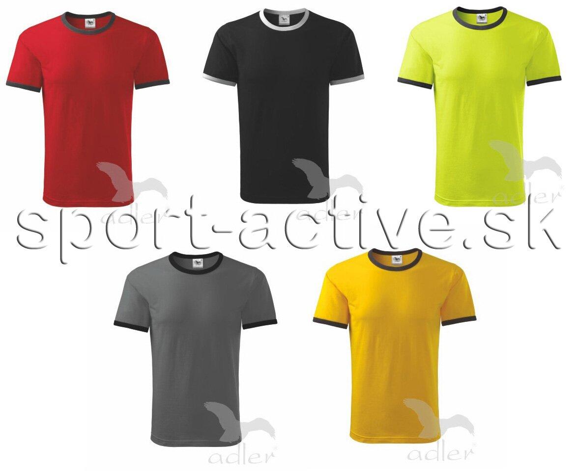 bc854d857 Pánske tričko s krátkym rukávom Infinity Adler 131, bavlnené, na ...