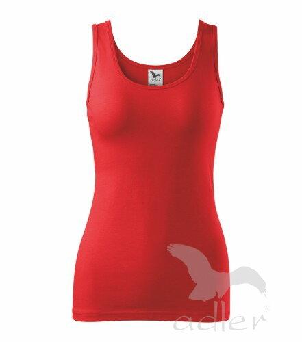 21ca7052d811 Červené dámske tričko - tielko Triumph Adler 136 bavlnené
