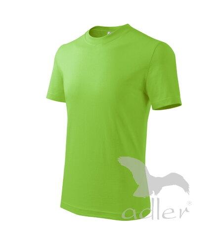 6768f54a1745 detské apple green tričko Adler Basic 138 s krátkym rukávom