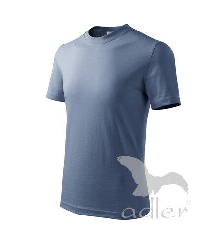 1f118ebec kráľovské modré tričko detské denim tričko Adler Basic 138 s krátkym rukávom