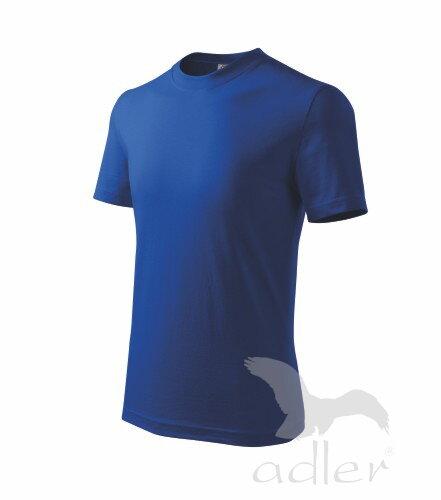 aa939b1abdc1 detské modré tričko s kratkym rukavom Adler Basic 138 kráľovské modré tričko  ...
