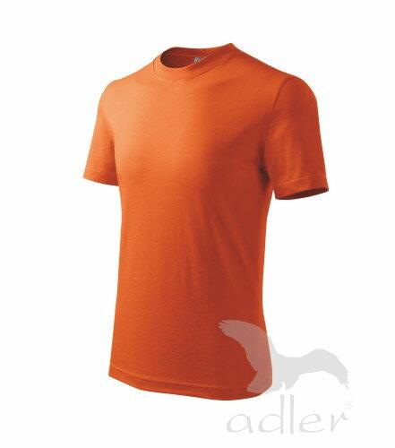 9f984c9023ac oranžové tričko cervene detske tricko s kratkym rukavom na potlac Adler  Basic 138 červené tričko detské červené ...