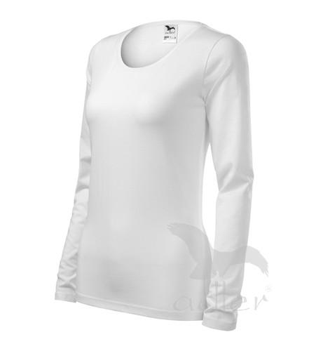 4c75b032d264 veľkostná tabuľka pre tričko SLIM 139 dámske biele tričko s dlhým rukávom  Slim Adler 139
