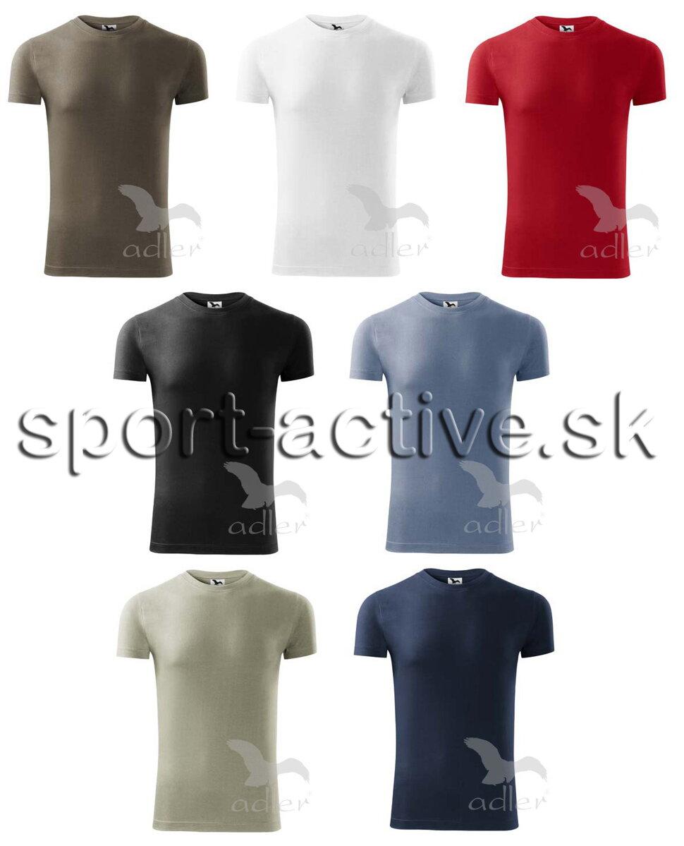 47f6ea4f3a6a Pánske tričko s krátkym rukávom jednofarebné Adler Replay 143 ...