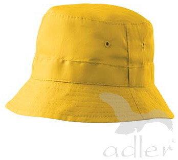 0a7c7dcb5 tmavomodrý klobúk žltý klobúk Adler Classic 304 bavlnený, jednofarebný, s  pásikom proti potu