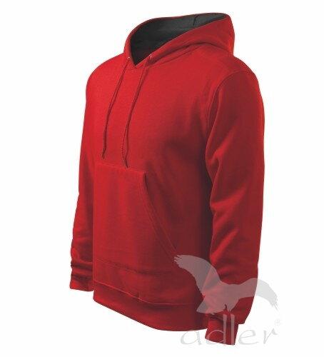 a226ad20508 biela mikina pánska červená mikina Adler Hooded Sweater 405 s kapucňou a  vreckom