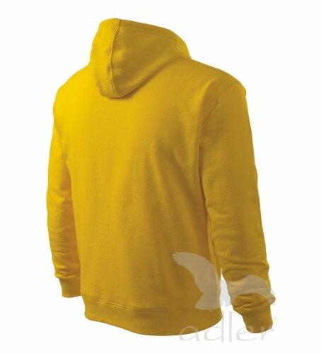 ecb64a3dfa6 žltá mikina žltá pánska mikina Adler Hooded Sweater 405 zo zadu s kapucňou  a vreckom