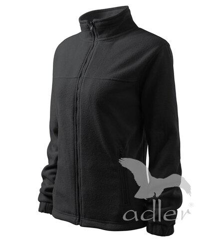 limetková mikina sivá dámska fleece mikina Adler 504 na zips b73c44f724