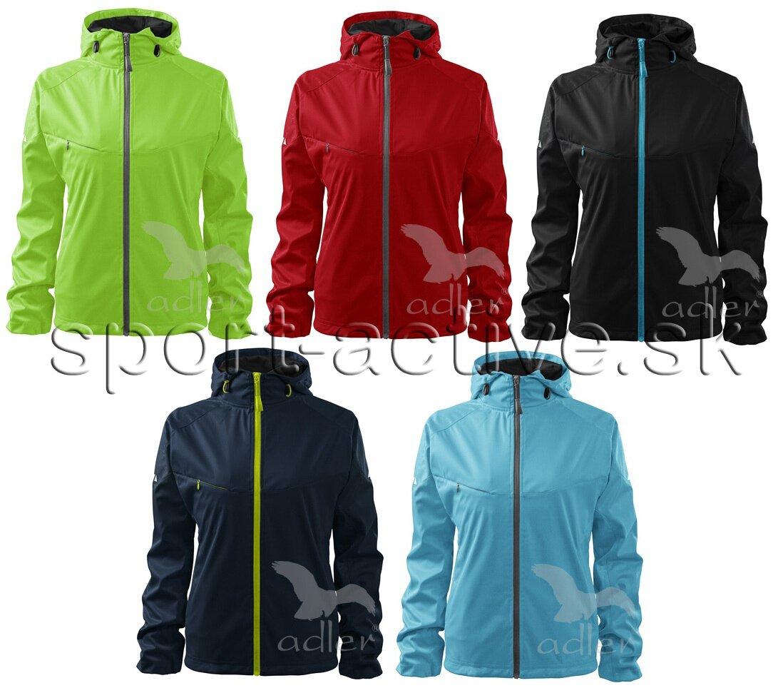 9faf22358 Dámska softshellová bunda s kapucňou Cool, nepremokavá, vetruodolná ...