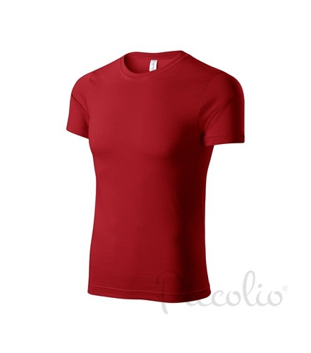 e2dd9d7f75d4 biele tričko červené detské tričko Adler Piccolio P72 s krátkym rukávom