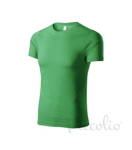 992e33240 svetlomodré tričko trávovo zelené detské tričko Adler Piccolio P72 s  krátkym rukávo