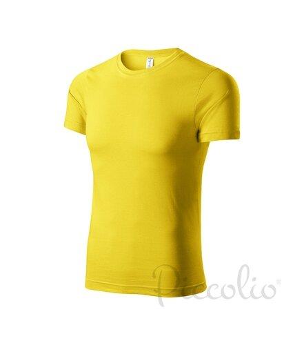 df4179ec36d0 tyrkysové tričko žlté detské tričko s krátkym rukávom Adler Piccolio P72