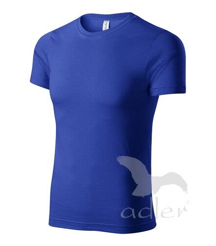 537498cc4bcf petrolejové tričko pánske kráľovské modré tričko s krátkym rukávom Adler  Piccolio P73