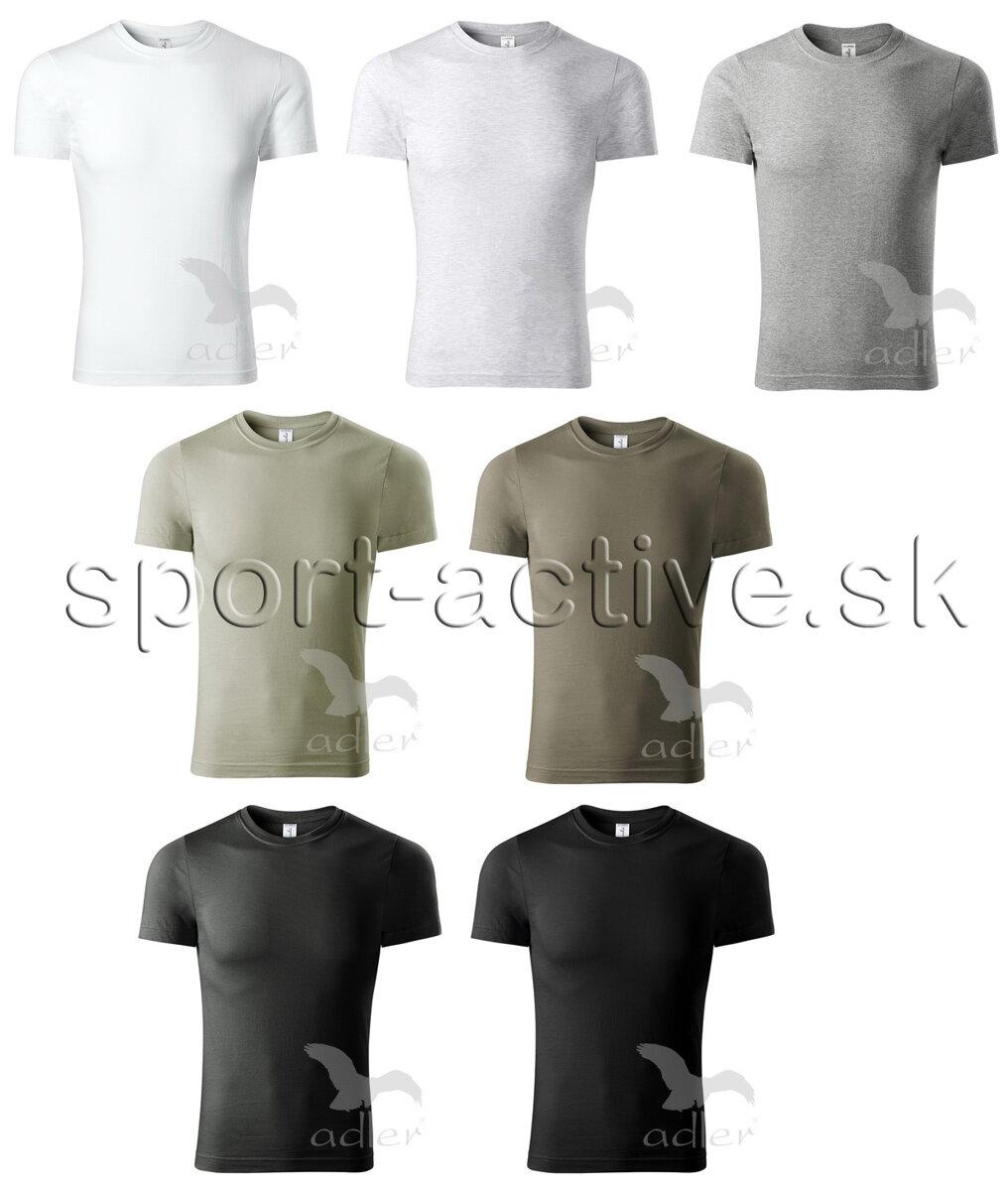 25e5eb53f Pánske tričko s krátkym rukávom Adler Piccolio P73 bavlnené ...