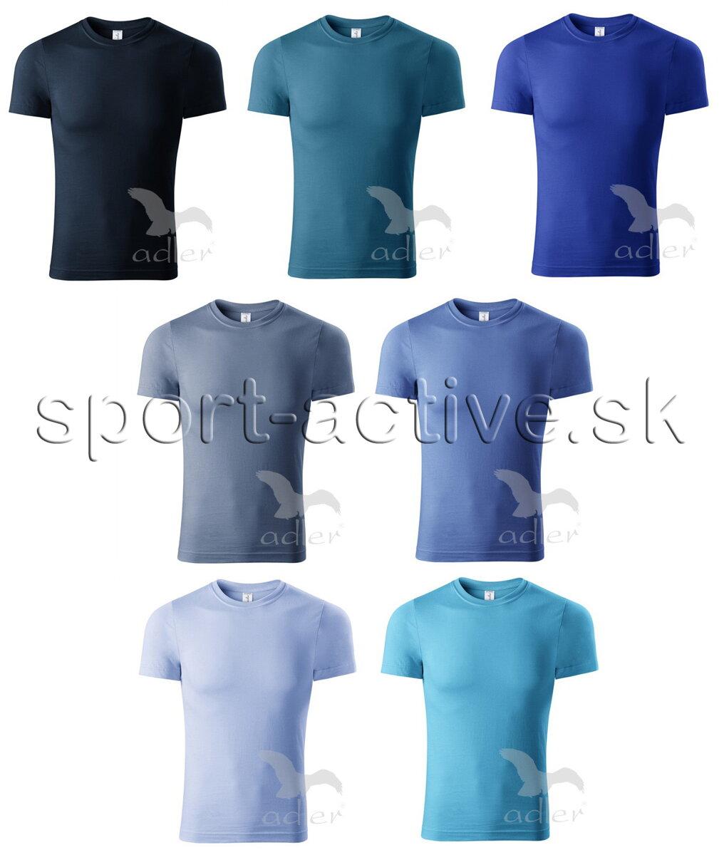 1faaf7071f9e Pánske jednofarebné tričko bavlnené s krátkym rukávom Adler Piccolio ...