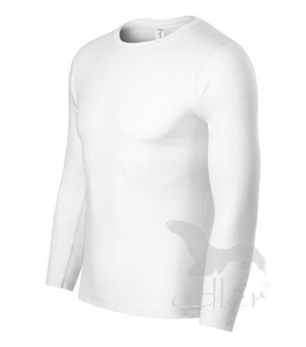 0030928b7 veľkostná tabuľka pre tričko Progress P75 pánske biele tričko Adler  Progress P75 s dlhým rukávom