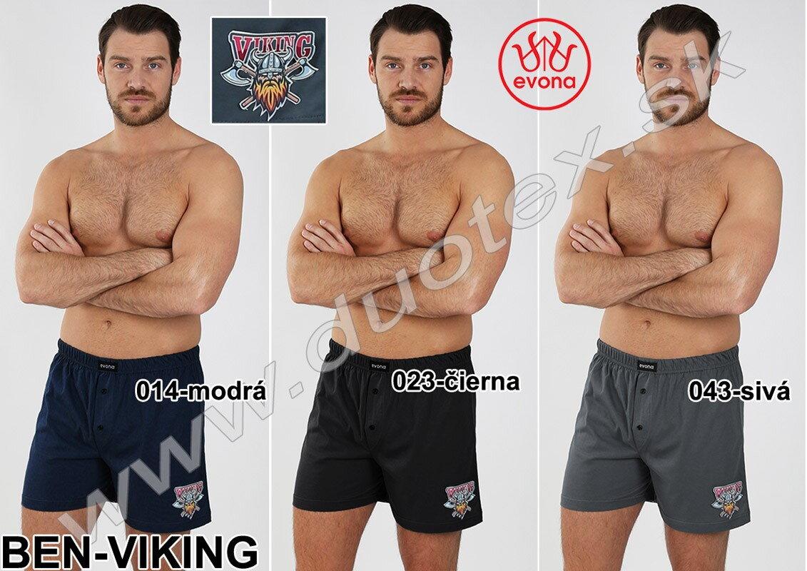 Pánske bavlnené boxerky Evona Ben - viking c81f4999fd
