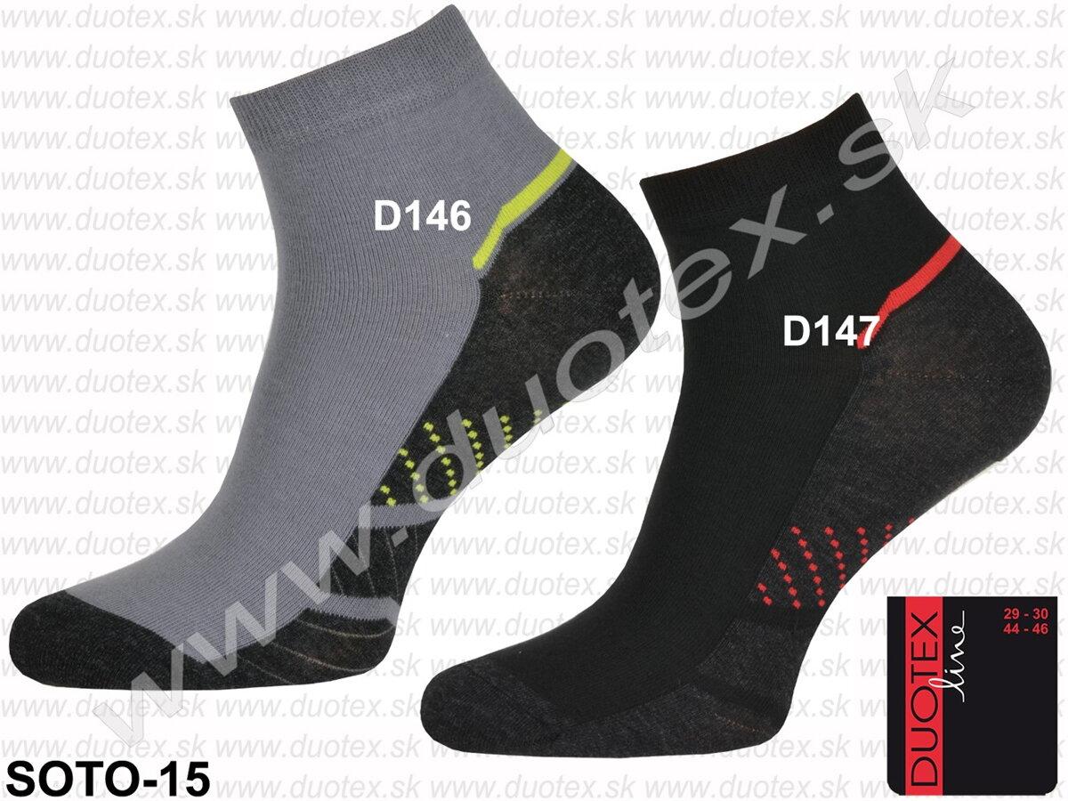 f55669e61 Ponožky pánske športové Soto-15 Duotex s nízkym lýtkom, elstické ...