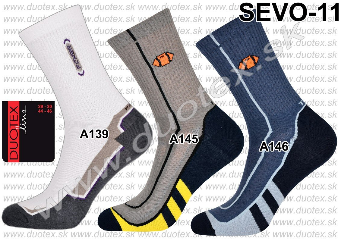 085554aed Pánske športové ponožky, elastické, so vzorom, biele, modré, hnedé ...