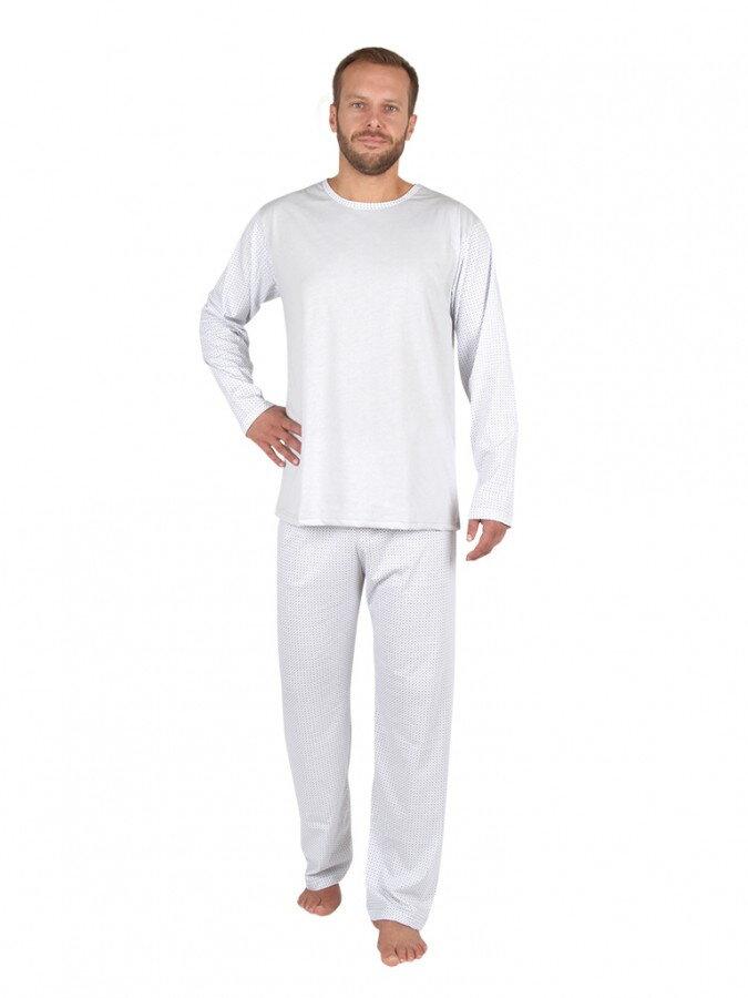 Evona pánske pyžamo s dlhým rukávom P-1405 c7c30acf6f