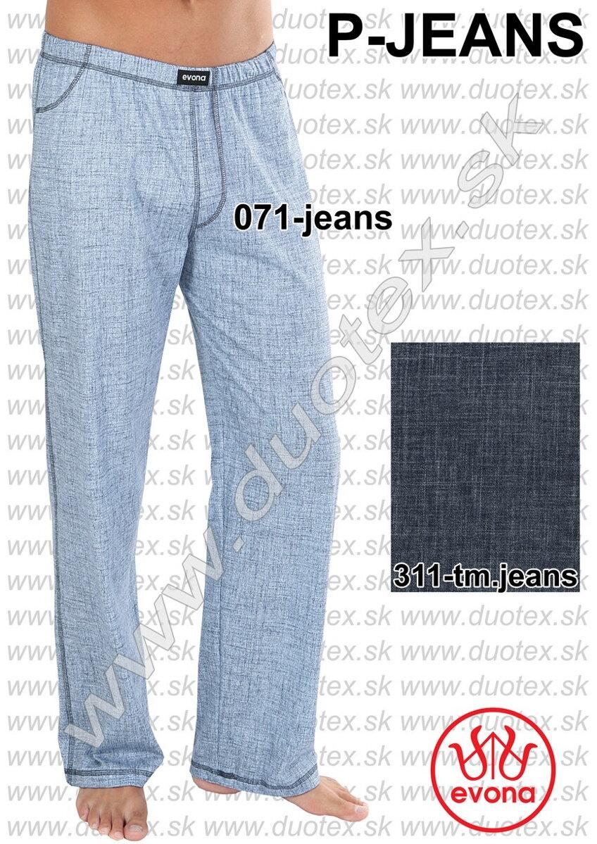 f7c97523981f Pánske bavlnené pyžamové nohavice Evona P-jeans