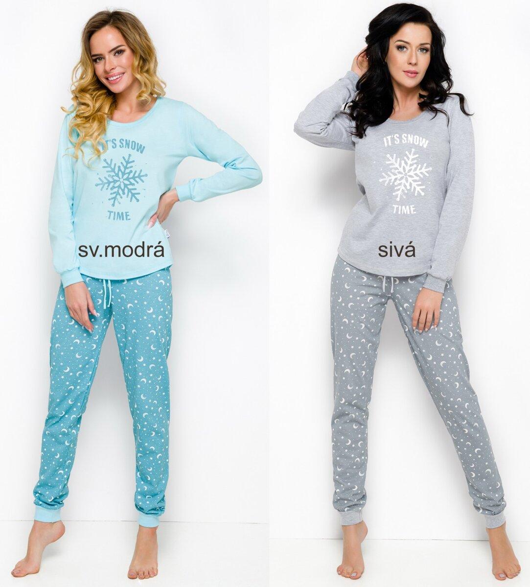 6a1740554a12 Dámske pyžamo s dlhým rukávom Nora2124 Taro