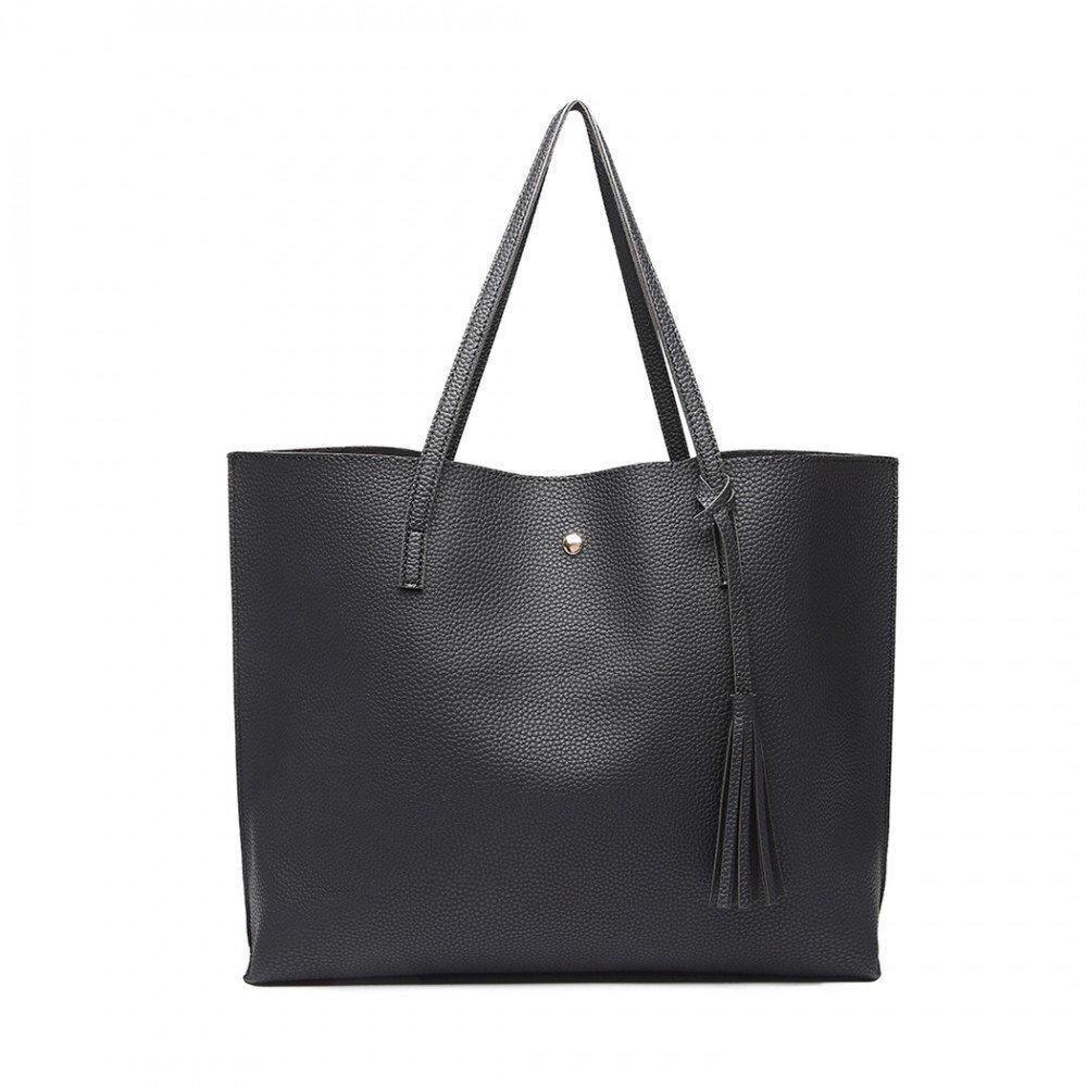 Lulu Bags dámska kabelka LU-E1919 čierna 04bf04515fa