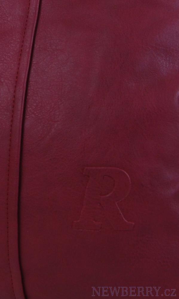 ... detail dámskej bordovej kabelky na plece Mahel 54-MH 42b5e012231