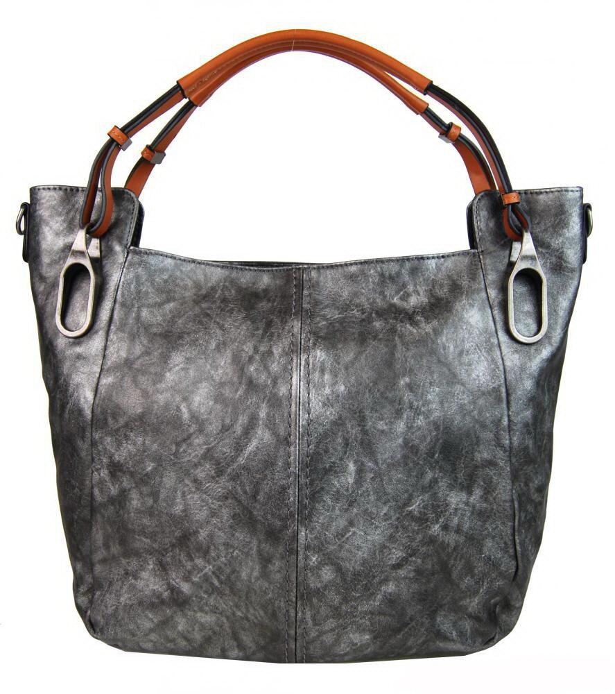 70d98a8dd9 Dámska sivá kabelka cez plece - na rameno Maria Marni 3003-MM s ...
