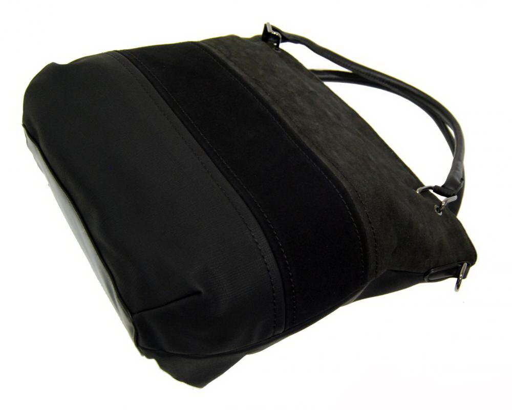 ... dámska čierna kabelka na plece New Berry AE-0903 z predu 9469cac99de