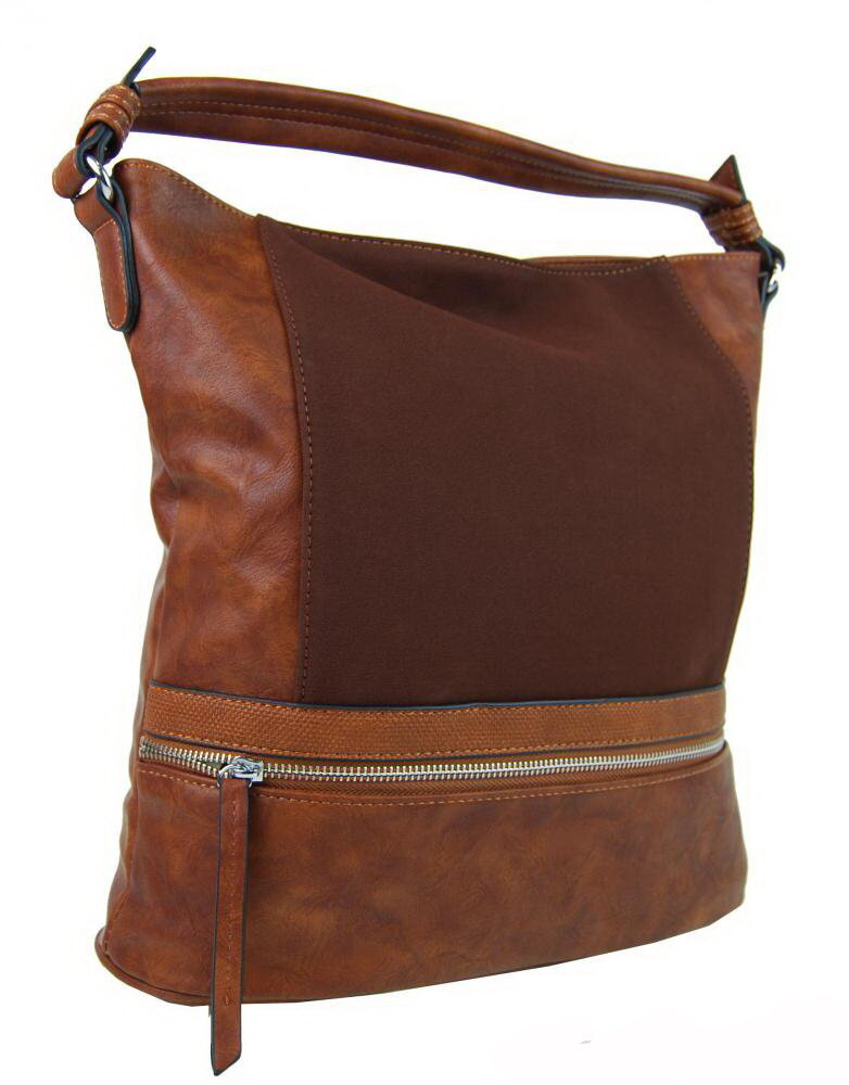 Hnedá kabelka New Berry NH6058 cez plece - na rameno 79c54119439