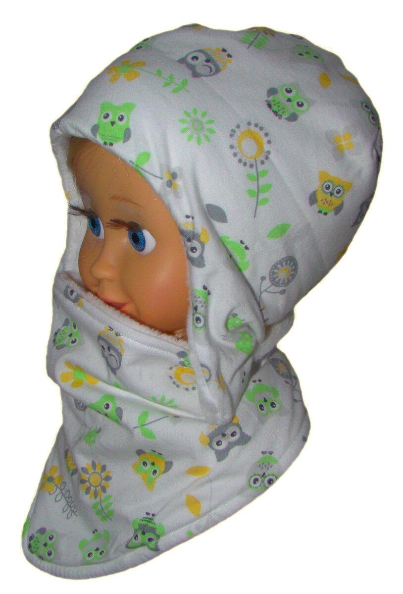 Detská zimná čiapka - ušanka a nákrčník na suchý zips f4b27091c0
