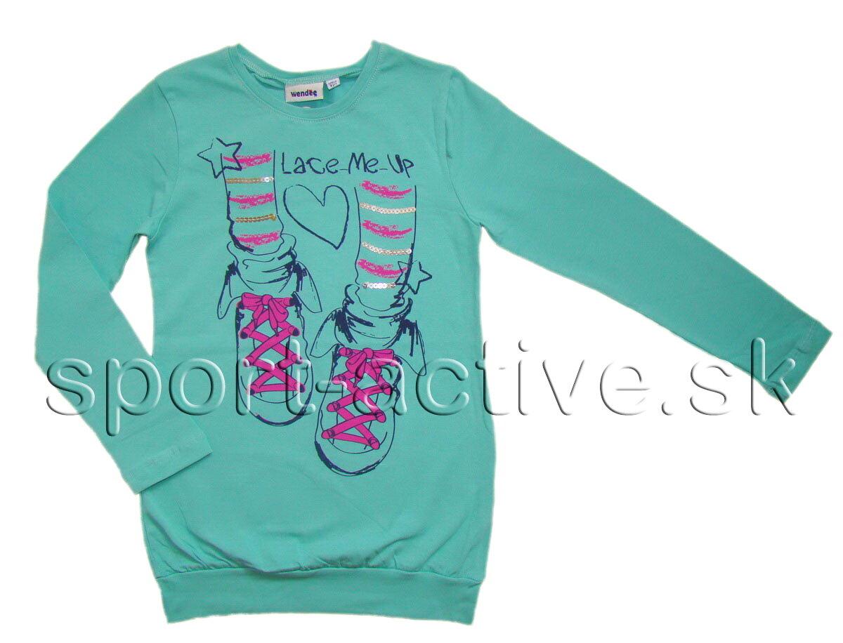 c865391492 Wendee dievčenské tričko   tunika s dlhým rukávom W519
