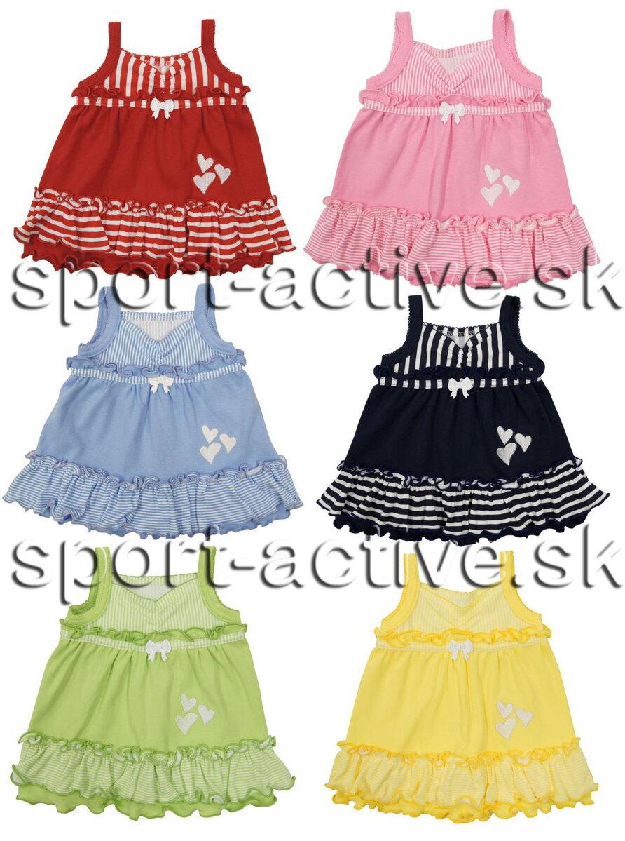 d27bd6909652 Dievčenské letné šaty na ramienka Richelieu Sofia 1032