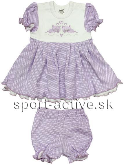 0c612b655c06 Letné dievčenské šaty s nohavičkami   kraťasmi Richelieu 2103 Cilka ...