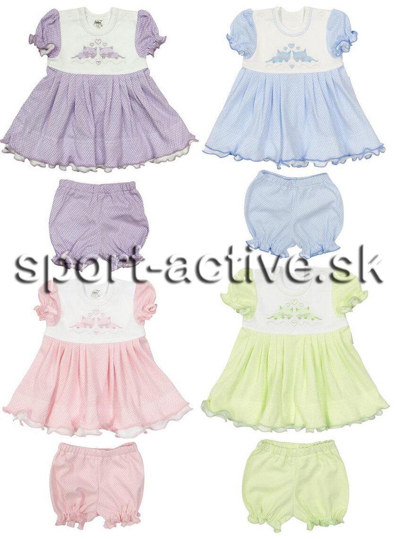 8f6a3c081fea Letné dievčenské šaty s nohavičkami   kraťasmi Richelieu 2103 Cilka ...
