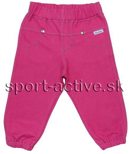 bdf6023e1df0 čierne nohavice zo zadu detské ružové nohavice Andy Richelieu 2208