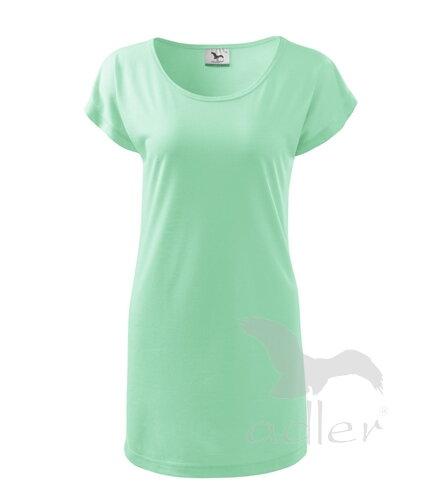 9dd4f1f52393 Dámske šaty   predĺžené tričko s krátkym rukávom Adler LOVE 123 ...