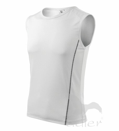 f541eff9d Detské tričko bez rukávo na šport Adler 125 Playtime, biele, na ...