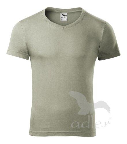 Pánske obtiahnuté tričko s krátkym rukávom Slim Fit Adler 146 svetlé ... bf61b26e983
